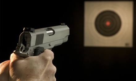 ShootingRange Experience for Two or Four at Guns Plus (22% Off)