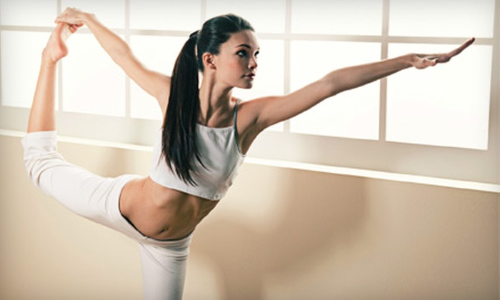 Riverflow Yoga - Riverflow Yoga: 10 or 15 Hot-Yoga Classes at Riverflow Yoga (Up to 85% Off)