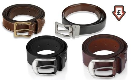 Men's Leather Belt for £14.99