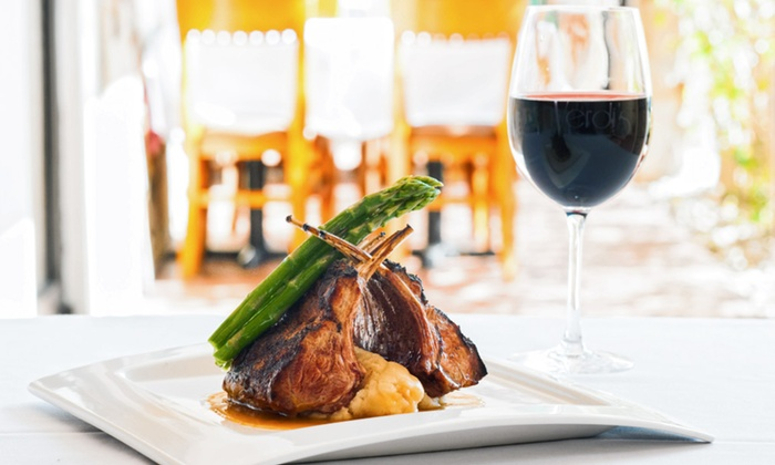 Verdis - City of Marco Island: American Bistro Meal with Entrees and Dessert to Share for Two or Four at Verdi's (Up to 30% Off)