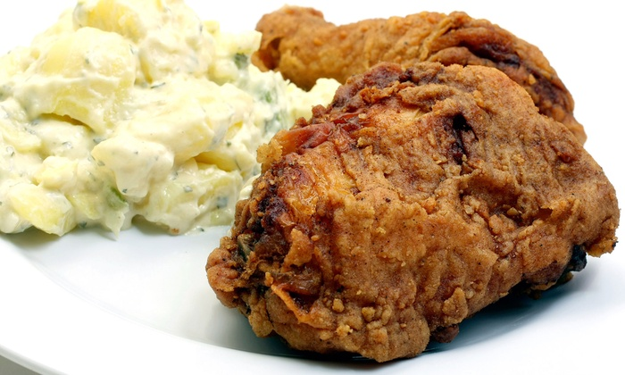Farm Basket - Charleston Preservation: $10 for $20 Worth of Fried Chicken and Sides or a 12-Piece Family Basket at Farm Basket