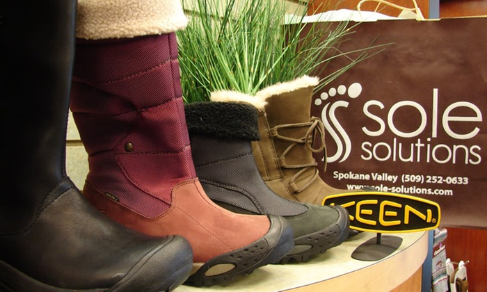Sole Solutions - Spokane Valley: $25 for $50 Worth of Shoes, Socks, and Insoles at Sole Solutions