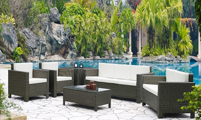 grs gadgets ltd_uk rattan garden furniture set 39998 62999 with free delivery