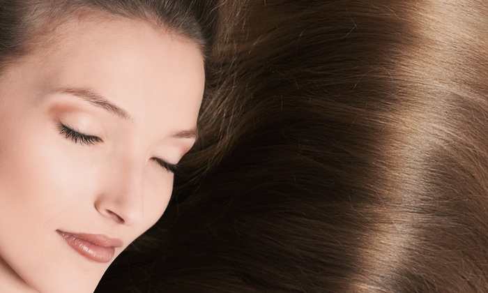 Jadah Lee at Chameleon Salon - Arbor Lodge: Haircut and Flat-Iron Styling with Option for Keratin Treatment from Jadah Lee at Chameleon Salon (Up to 65% Off)