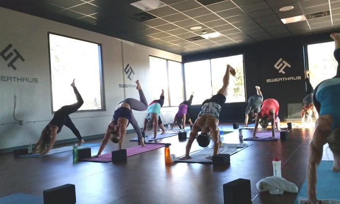 Sweathaus Health and Fitness - San Diego: Up to 79% Off Yoga Classes at Sweathaus Health and Fitness