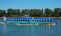 2 Std. Frühlingsrundfahrt auf dem Rhein vom 03.-24. März für 2 Personen mit der MS Moby Dick (50% sparen*)