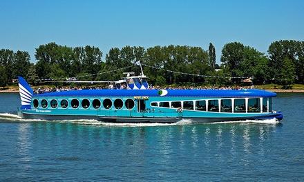 Frühlingsrundfahrt auf dem Rhein mit Live Guide!