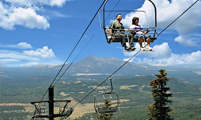 Arizona Snowbowl - Flagstaff: Summer Scenic Chairlift Ride for Two or Four at Arizona Snowbowl (Up to 47% Off)