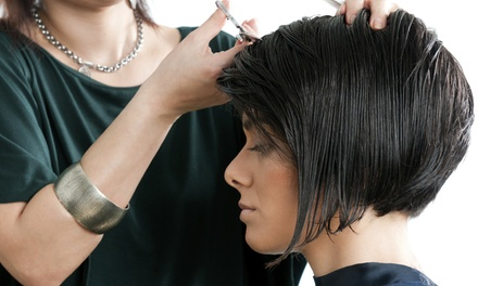 One or Three Haircuts, Each with Deep-Conditioning Treatment at Paul Mitchell The School (Up to 52% Off)