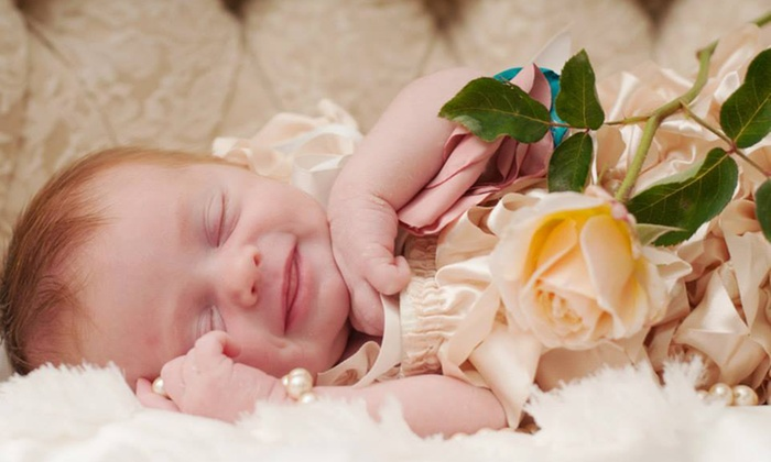 CP Designs - Fresno: Portrait or Newborn Photography Package from CP Designs (Up to 67% Off)