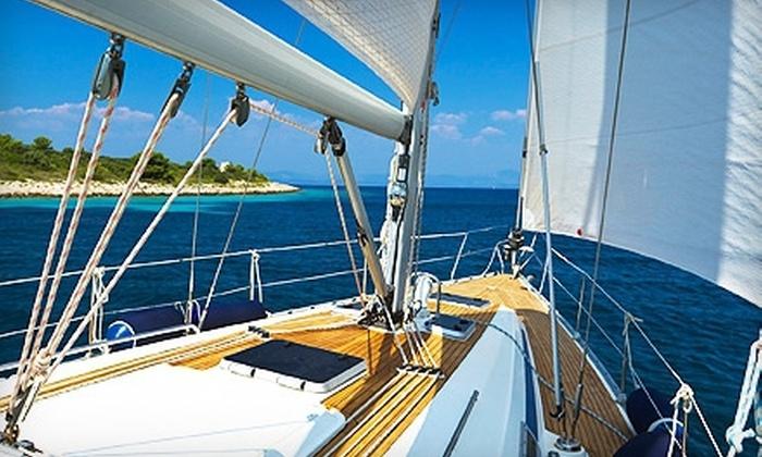 Windward Sailing - Amelia Island: $99 for a Three-Hour Sunset Sailing Tour for Two from Windward Sailing ($220 Value)