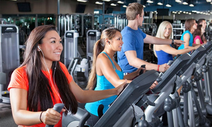 Fitness 19 - Multiple Locations: $19 for Two-Month Gym Membership, Two Personal-Training Sessions, and Access to Kids Room at Fitness 19 ($180 Value)