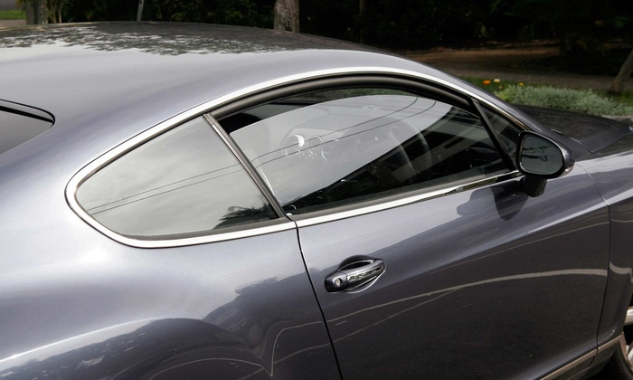 Sound Solutions - West Salem: Window Tinting with a Lifetime Warranty for a Midsize Sedan or SUV from Sound Solutions (50% Off)