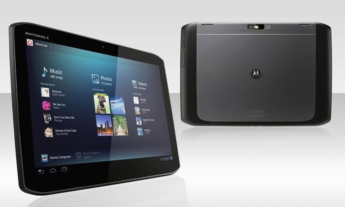 Motorola Xyboard Tablet Bundle: Motorola Droid Xyboard 10.1 Tablet and Accessory Bundle.