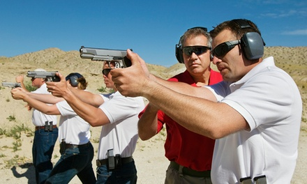 16-Hour Conceal and Carry Course for One or Two at Powerhouse Tactical Industries (Up to 70% Off)