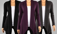 3-Pack Draped Hacci Cardigans