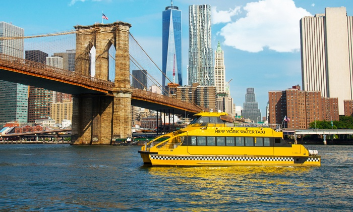 New York Water Taxi and Circle Line Downtown - Multiple Locations: $16 for a Boat Tour from New York Water Taxi and Circle Line Downtown (Up to $30 Value)