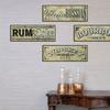 Set of 4 Vintage Bar Signs