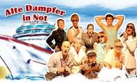 """2 Tickets für die Theater-Komödie """"Alte Dampfer in Not"""" von Januar bis Juni im PEM Center (50% sparen)"""