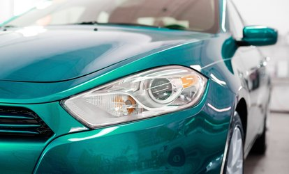 image for Headlight Restoration with Optional UV Protective Coating at Remote Start Magic (Up to 71% Off)