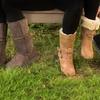 Redfoot Lammfell Boots