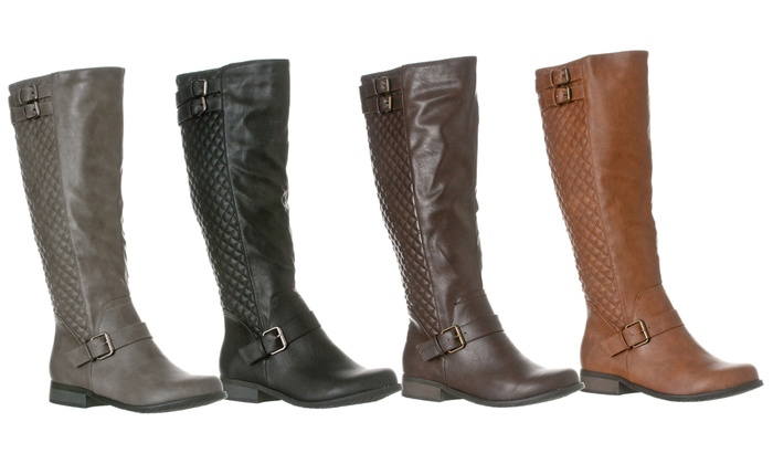 Riverberry Knee-High Riding Boot | Groupon Goods