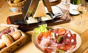 Ch'ti Charivari de Saint-Omer: Raclette à l'ancienne au morbier pour 2 ou 4 personnes dès 17 € au restaurant Ch'ti Charivari de Saint-Omer