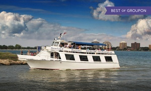 "Huron Lady II: Public Sightseeing Boat Cruise for Two, Four, or Six on ""Huron Lady II"" (50% Off)"