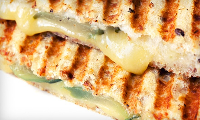 The Melt - Downtown: Five Grilled-Cheese Sandwiches or $10 for $20 Worth of Breakfast or Lunch at The Melt
