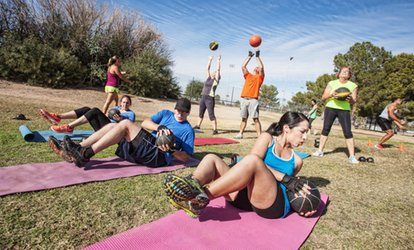 image for Single, Two, or All Locations Six Week Unlimited Boomer Boot Camp at San Diego Core <strong>Fitness</strong> (Up to 86% Off)
