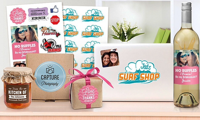 StickerYou: $5 for One Page of Custom Stickers or Labels from StickerYou ($9.99 Value)