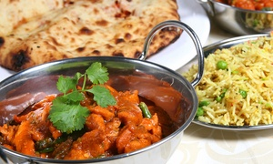 Indigo Bistro: Two-Course Indian Meal For Two or Four from £18 at Indigo Bistro (Up to 57% Off)