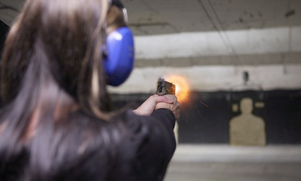 One-Hour, 9mm Handgun Shooting Session at Hnatiuk's Hunting and Fishing (Up to 46% Off)