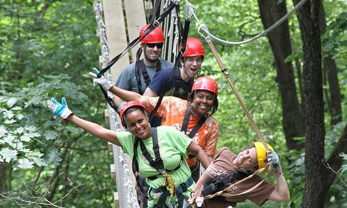 ... North Georgia Canopy Tours - Multiple Locations Zip Line Adventure or Zip u0026 Sip Adventure ...  sc 1 st  Groupon & North Georgia Canopy Tours - Lula GA | Groupon