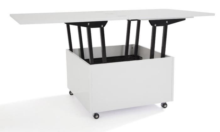 table basse relevable giani groupon shopping. Black Bedroom Furniture Sets. Home Design Ideas