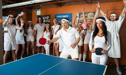 Entry for One or Two to a Ping Pong Party on Friday, October 3 from Ottawa Charity Ping Pong (36% Value)
