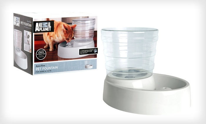 Animal Planet Pet Water Fountain: $19 for an Animal Planet Automatic-Flow Pet Water Fountain ($39.99 List Price). Free Shipping and Free Returns.
