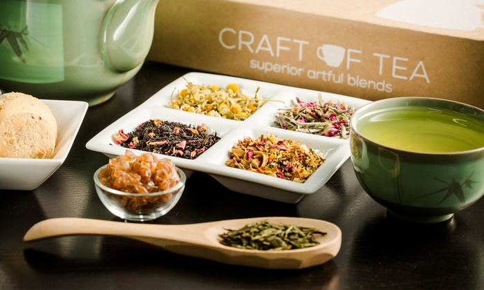 Craft of Tea: One, Three, or Six Signature Tea Boxes from Craft of Tea (Up to 57% Off)