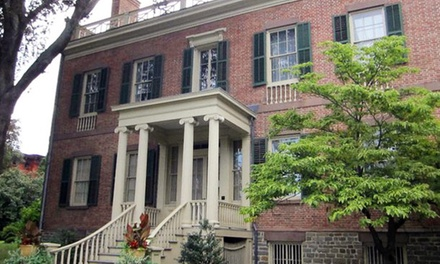 Guided Tour for Two or Four or a One-Year Family or Individual Membership to Ten Broeck Mansion (Up to 45% Off)