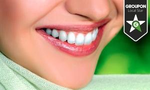 1 o 2 sesiones de blanqueamiento dental led y limpieza bucal desde 49,90 €