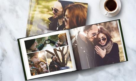 Fotolibro de tapa dura formato A5 paisaje con Printer Pix (95% de descuento)