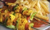 Tiki Taka Grill - Hillcrest: $15 for $30 Worth of Mediterranean Cuisine at Tiki Taka Grill