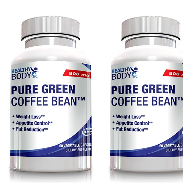 Healthy Body Pure Green Coffee Bean Extract Groupon