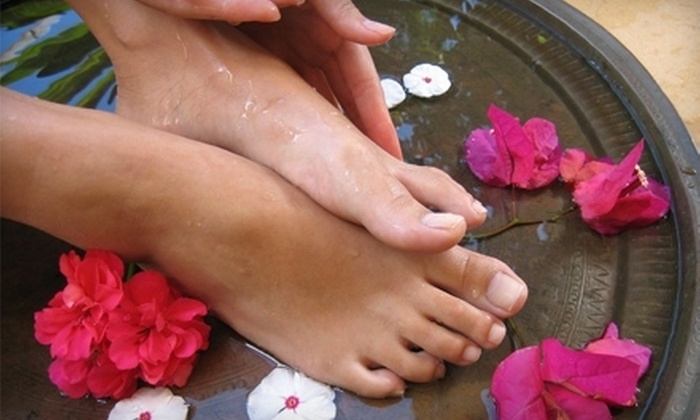 The Massage Spa - United Central: $17 for a Spa Pedicure with Aromatherapy at The Massage Spa ($35 Value)