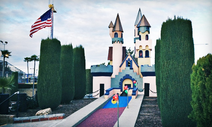 Scandia Family Fun Center - Sacramento: Two Ride-Coupon Books or Haunted House for Two at Scandia Family Fun Center (Up to 54% Off)