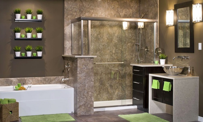 Rebath Up To Off Jacksonville Groupon - Re bath bathroom remodeling