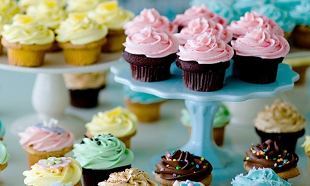 C$9 for a Dozen Pre-Assorted Mini Cupcakes at Cupcakes by Heather & Lori (C$15 Value)
