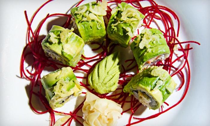 Hana Sushi Fusion - Bluffton: Japanese Cuisine at Hana Sushi Fusion (Half Off). Two Options Available.