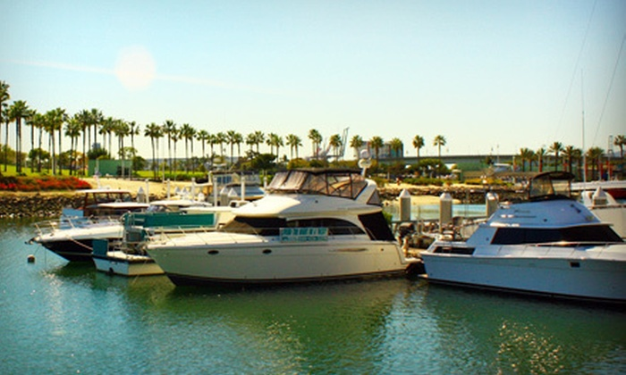 Dockside Boat & Bed - Alamitos Beach: One-Night Weekday or Weekend Stay for Two on a Luxury Yacht from Dockside Boat & Bed in Long Beach (Up to 51% Off)