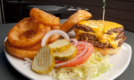$11 for $22  Worth of Burgers, Pub Food, and Drinks at Jersey's Bar & Grill